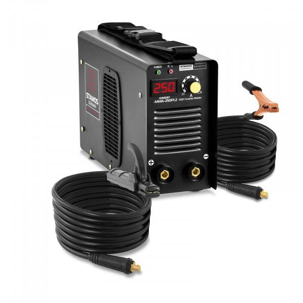 Elektroden Schweißgerät - 250 A - 8 Meter Kabel - Hot Start - PRO