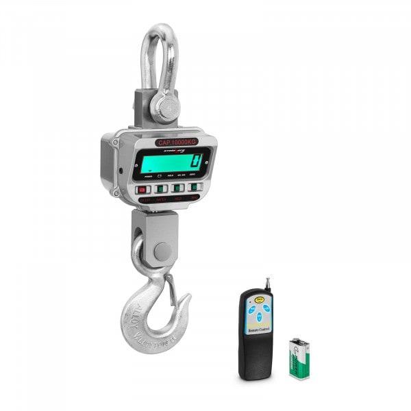 Kranwaage - 10 t / 2 kg - LCD - 150 Std.
