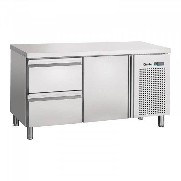 Bartscher Kühltisch - Umluft - 1 Tür - 2 Schubladen