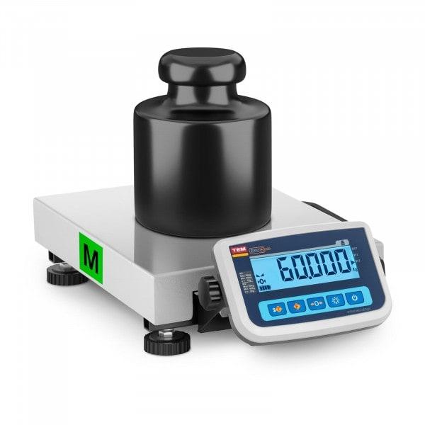Paketwaage - geeicht - 60 kg / 20 g