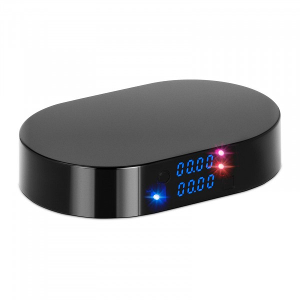 Smarte Kaffeewaage - 2 kg - 1 g / 500 g - 158 x 103 mm - Bluetooth - Timer