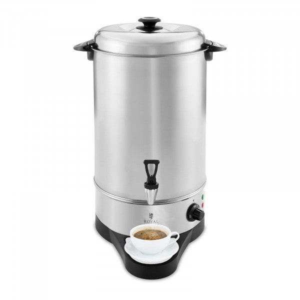 Wasserkocher - 10 L - 1.600 W - Abtropfschale