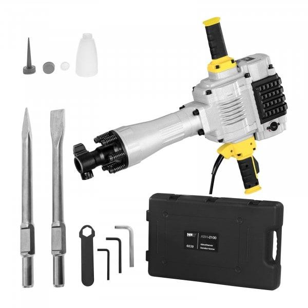 Abbruchhammer ABH-2100 - 2.100 W - 85 J -1.600 Schläge/min - SDS-HEX
