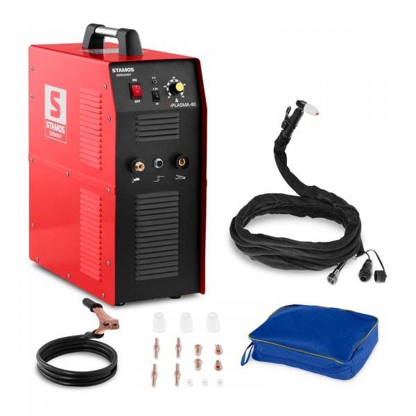 Plasmaschneider - 40 A - 230 V - integrierter Druckluftkompressor