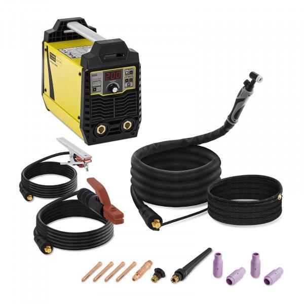 Elektroden Schweißgerät Set - 200 A mit WIG Liftarc Schweißbrenner