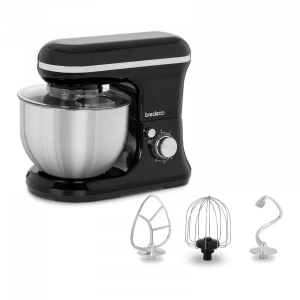 Küchenmaschine 1.200 W - 5 L - planetarisches Rührsystem - schwarz