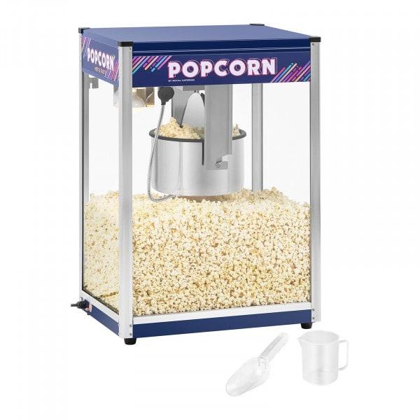 Popcornmaschine - blau - 16 oz - XXL