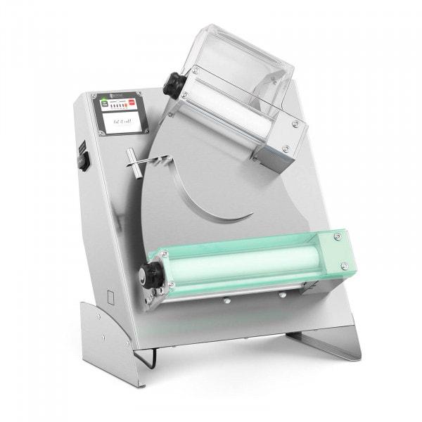 Teigausrollmaschine - Ø 14 bis 29 cm - 2 Rollen - 0 bis 5 mm - Autostart
