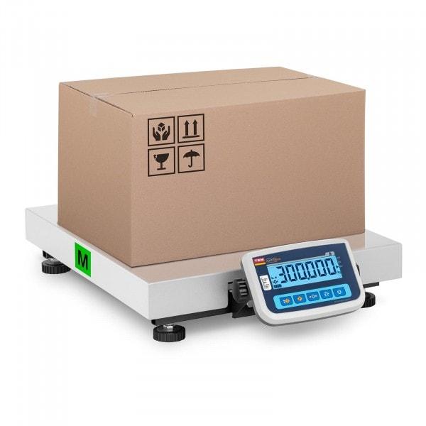 Paketwaage - geeicht - 300 kg / 100 g - 60 x 50 cm