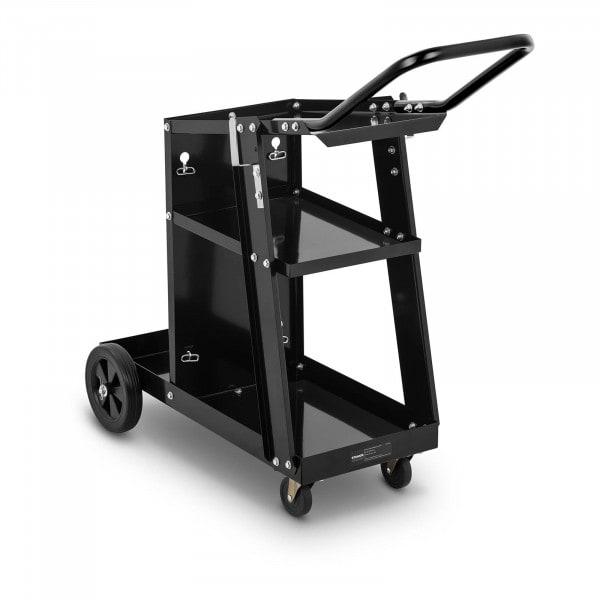 Schweißwagen mit Griff - 3 Ablageflächen - 80 kg