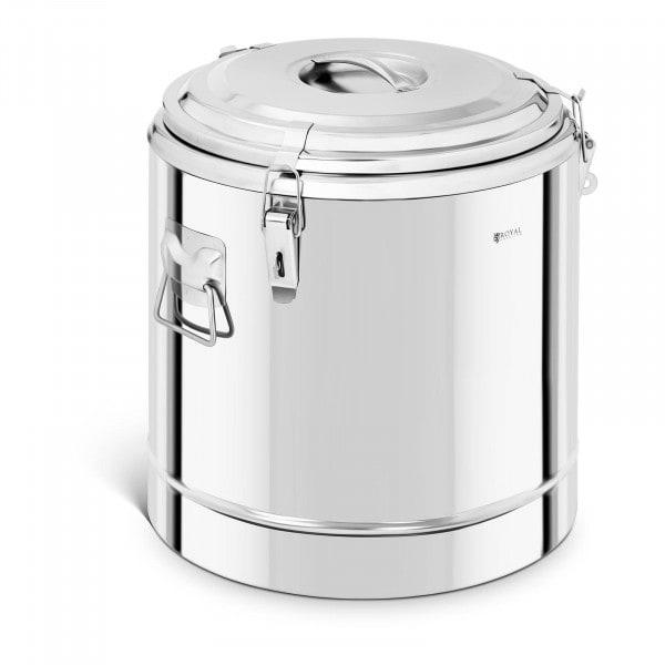 Thermobehälter Edelstahl - 35 L