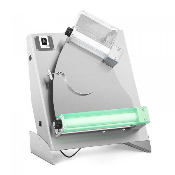 Teigausrollmaschine - Ø 26 bis 40 cm - 2 Rollen - 0 bis 5 mm