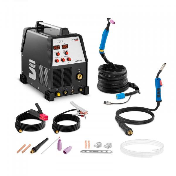 Kombi-Schweißgerät - 220 A - WIG - MIG - FCAW - E-Hand