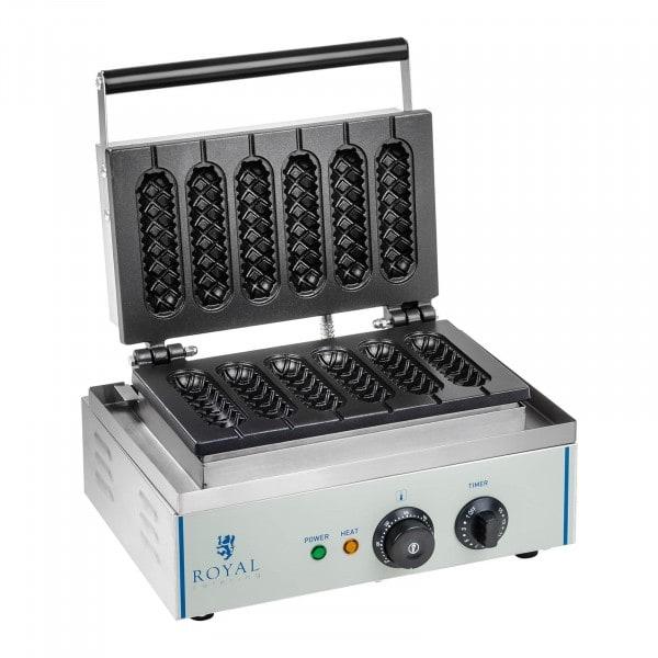 Waffeleisen - 1.550 Watt - Stiel - Corn Dog