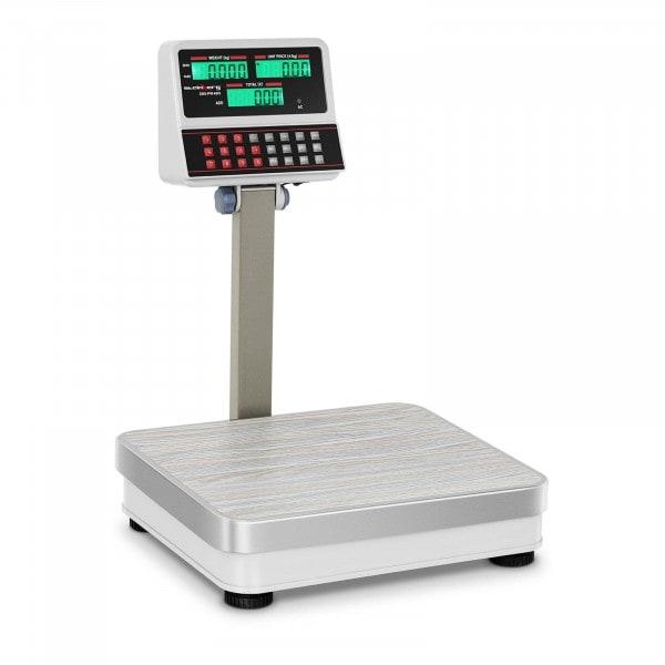 Kontrollwaage mit LCD-Hochanzeige - 100 kg / 10 g