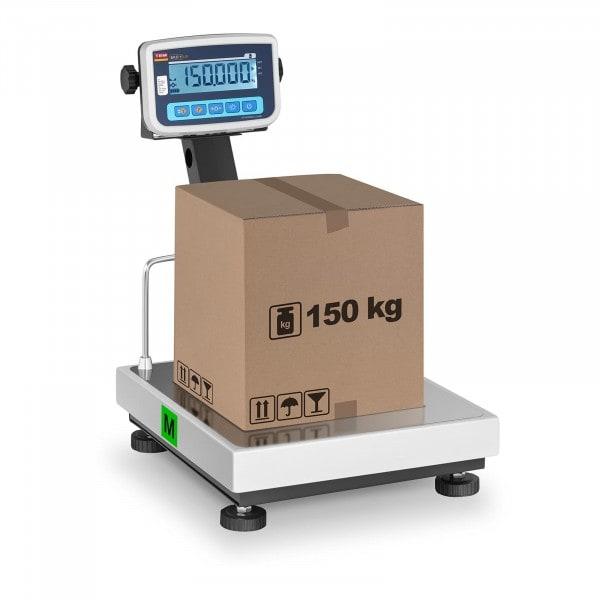 Plattformwaage - geeicht - 150 kg / 50 g