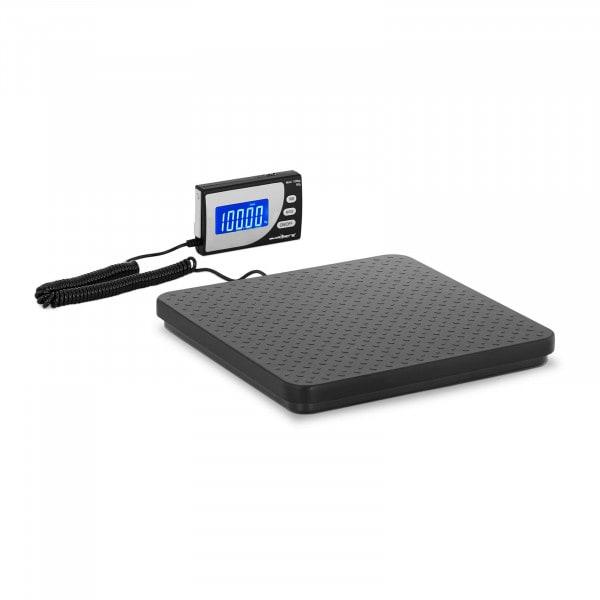 Digitale Paketwaage - 100 kg / 100 g - 30 x 30 cm - externes LCD