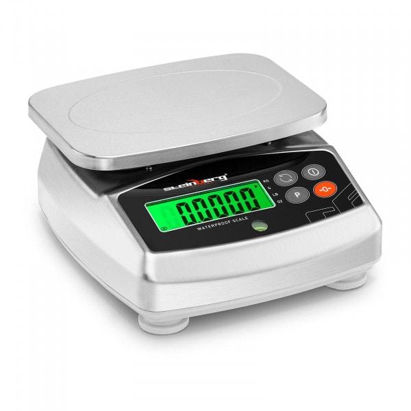 Digitale Küchenwaage - 3 kg / 0,1 g - 21 x 16 cm - LCD