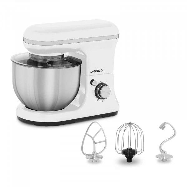 Küchenmaschine 1.200 W - 5 L - planetarisches Rührsystem - weiß