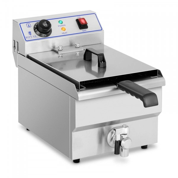 Elektro-Fritteuse - 1 x 10 Liter