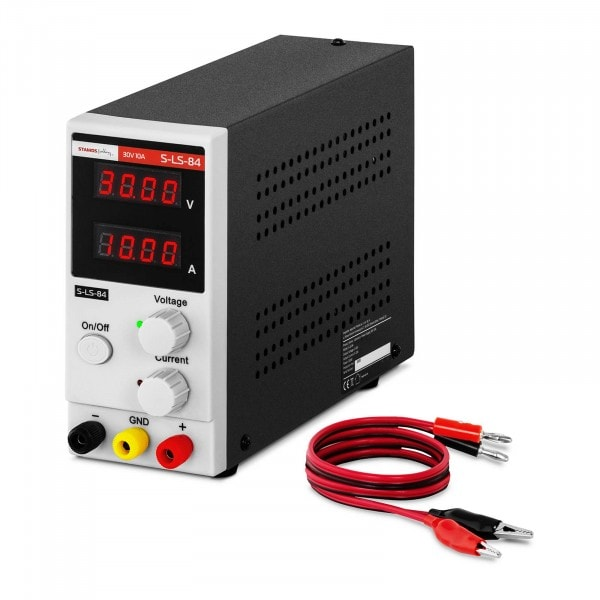 Labornetzgerät - 0-30 V - 0-10 A DC - 300 W
