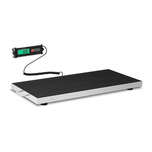 Bodenwaage - 150 kg / 50 g - Antirutschmatte - LCD