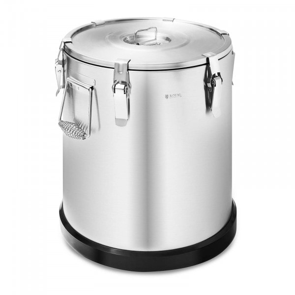 Thermobehälter - Edelstahl - Royal Catering - 36 L