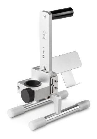 KERN Prüfstand für runde und flache Objekte zur Verwendung mit den motorisierten Sonden HO-A15 bis H