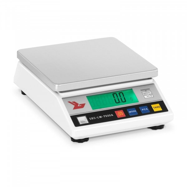 Präzisionswaage - 7.500 g / 0,1 g - LCD