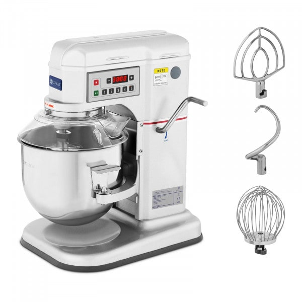 Teigknetmaschine - 7 L - Royal Catering - 650 W - 230 - 580 U/min