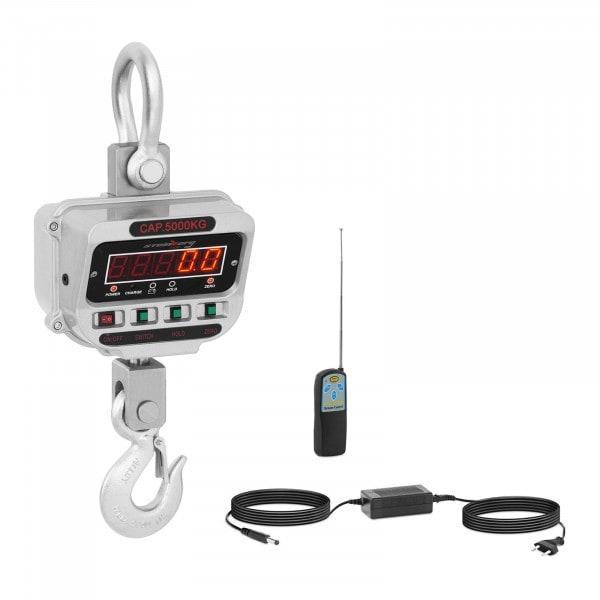 Kranwaage - 5 t / 1 kg - LED