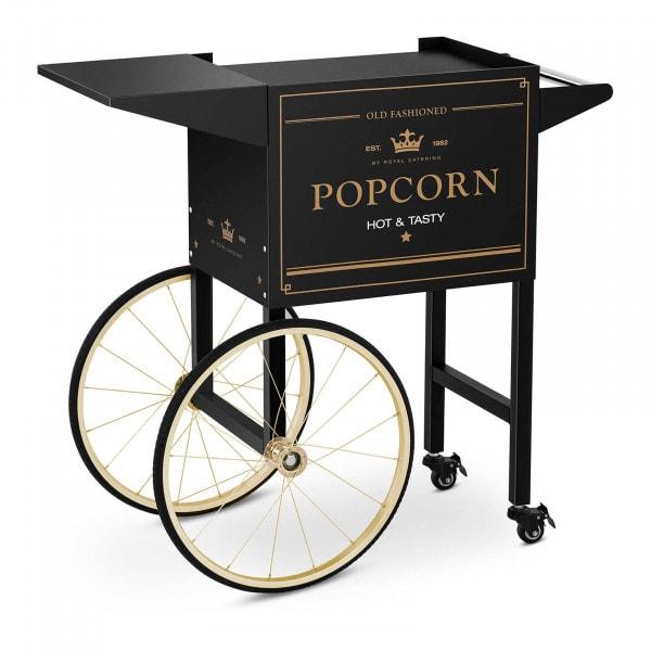 Wagen für Popcornmaschine - schwarz & golden