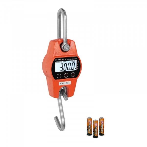 Kranwaage - 300 kg / 100 g - orange