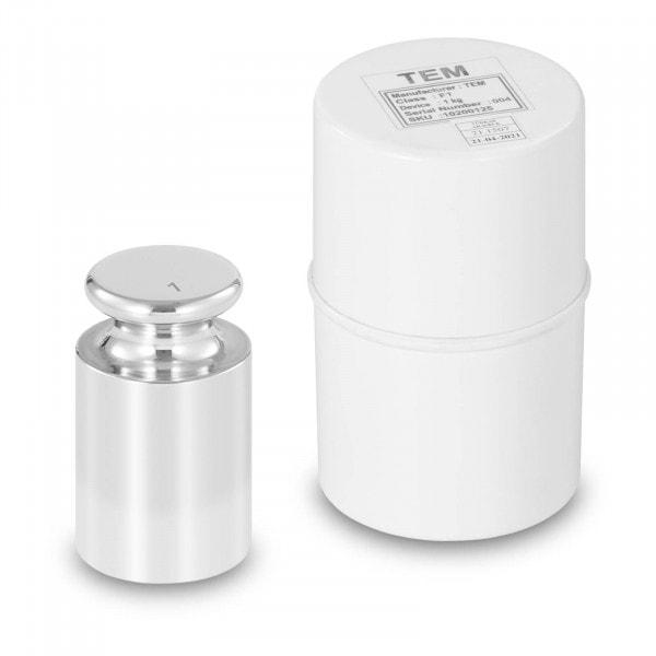 Kalibriergewicht - 1 kg - Edelstahl
