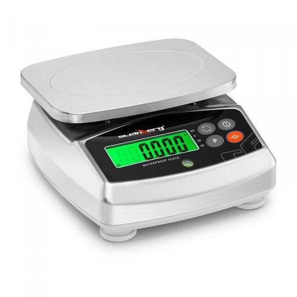 Digitale Küchenwaage - 30 kg / 1 g - 21 x 16 cm - LCD