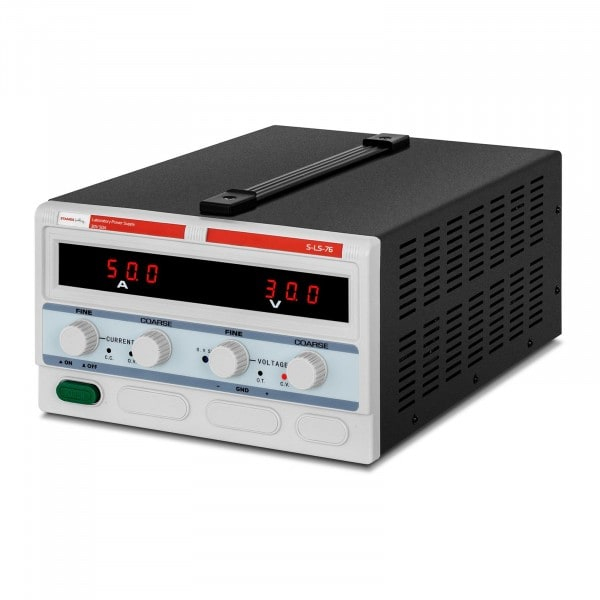 Labornetzgerät - 0-30 V - 0-50 A DC - 1.500 W