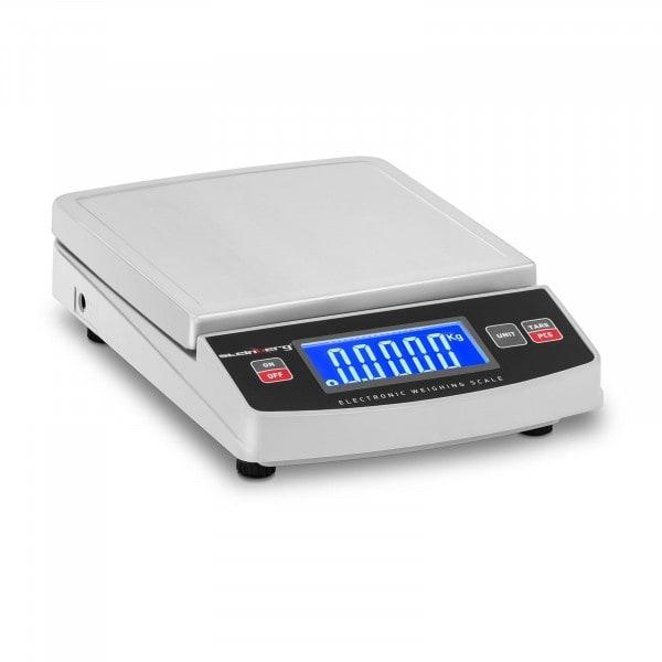 Digitale Tischwaage - 5.000 g / 1 g - 14,8 x 15,2 cm - LCD