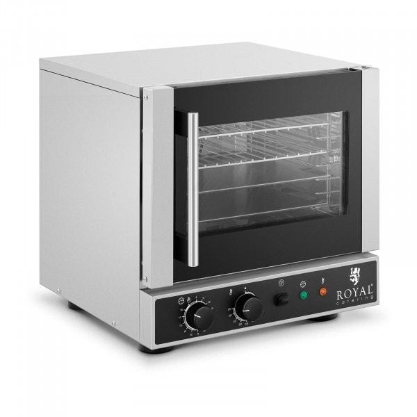 Heißluftofen - 2.600 W - Dampffunktion - inkl. 2 Bleche, 2 Roste (GN 1/2)