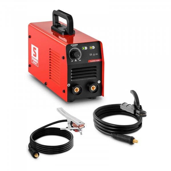 Elektroden Schweißgerät - 160 A - LED - Hot Start- Arc Force - Griff