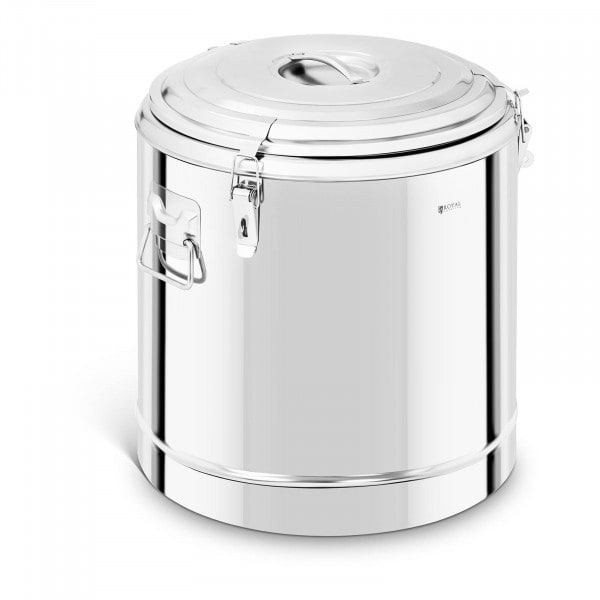 Thermobehälter Edelstahl - 50 L
