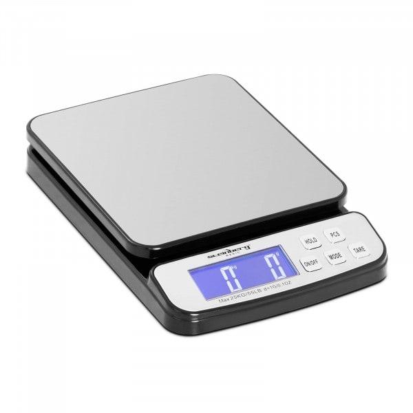 Briefwaage digital - 25 kg / 1 g